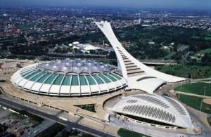 Олимпийский стадион Монреаля